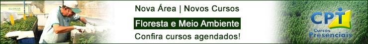 Nova área e novos cursos - Floresta e meio ambiente