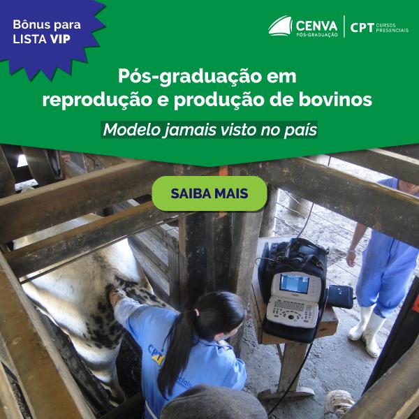 CENVA - Pós Graduação em Produção e Reprodução em Bovinos