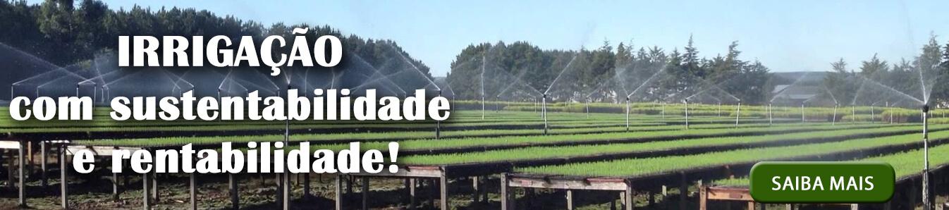 Irrigação com sustentabilidade e rentabilidade!