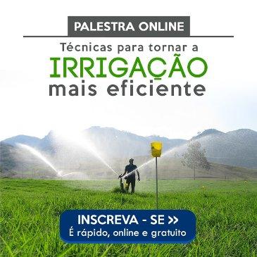 Palestra Online Sobre Irrigação Eficiente