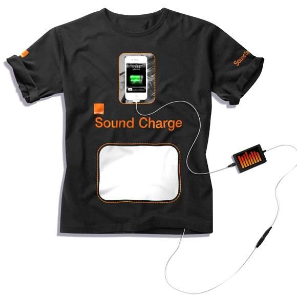 Britânicos inventam camiseta que produz eletricidade a partir do som