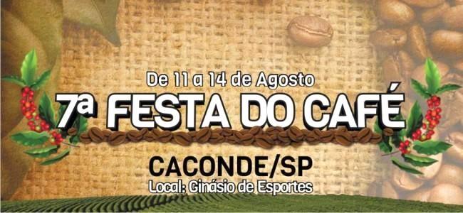 7ª FESTA DO CAFÉ EM CACONDE