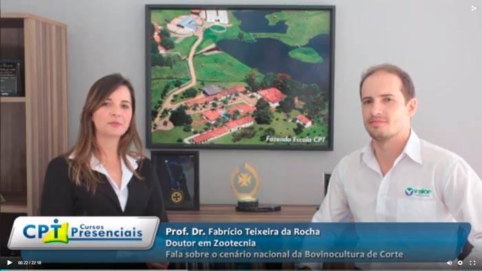 Entrevista Exclusiva com o Professor Dr. Fabrício Teixeira da Rocha Falando Sobre o Cenário Atual da Bovinocultura de Corte