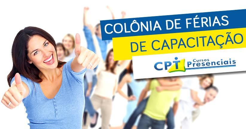 10ª Colônia de Férias de Capacitação - Invista no seu sucesso profissional