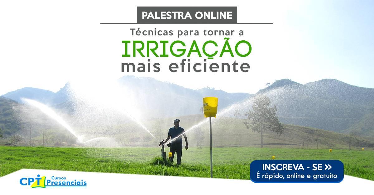 Não deixe de conferir: Técnicas para tornar a irrigação mais eficiente